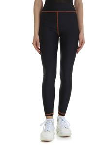 Heron Preston - Black technical fabric leggings