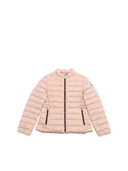 Moncler Jr - Kaukura pink down jacket
