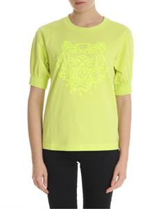 Kenzo - Neon lime green Tiger T-shirt