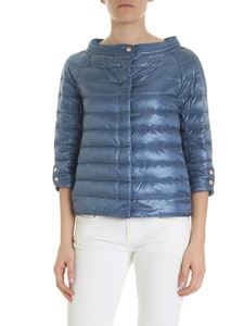 Herno - Elsa down jacket in light blue