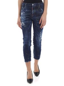 Dsquared2 - Jeans blu Cool Girl Cropped