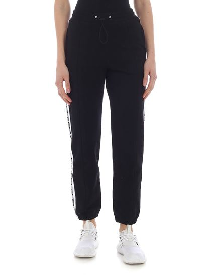 MSGM - Black trousers with Msgm logo