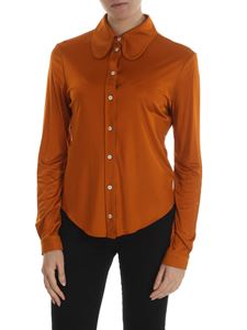 Mulberry - Carla rust-colored shirt