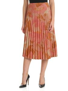 Mulberry - Ettie pink pleated skirt