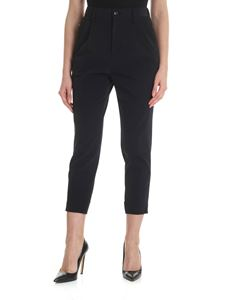 Zucca - Black trousers with pleats