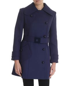 Mulberry - Felicia blue trench coat