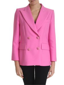 Mulberry - Pink Tura jacket with jewel details