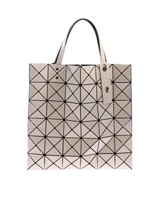 BAO BAO Issey Miyake - Lucent beige bag with triangular pattern
