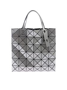 BAO BAO Issey Miyake - Lucent silver bag with triangular pattern