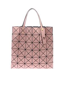 BAO BAO Issey Miyake - Lucent Frost pink bag with triangle pattern
