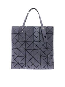 BAO BAO Issey Miyake - Lucent Frost gray bag with triangle pattern
