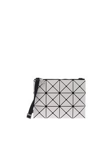 BAO BAO Issey Miyake - Lucent white bag with triangles motif