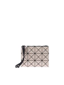BAO BAO Issey Miyake - Lucent beige bag with triangles motif