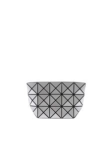 BAO BAO Issey Miyake - Silver Prism clutch with triangles motif