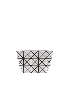 BAO BAO Issey Miyake - White Prism clutch with triangles motif