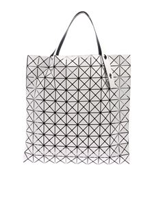 BAO BAO Issey Miyake - Prism white handbag with triangular pattern