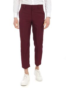 MSGM - Burgundy MSGM trousers