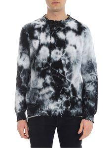 MSGM - MSGM pullover with Tie Dye print
