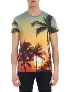 Balmain - Tropical multicolor T-shirt