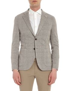 L.B.M. 1911 - Unlined brown checked jacket