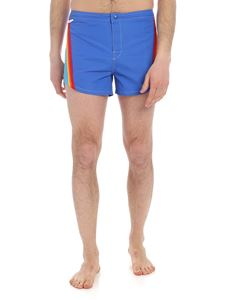 MSGM - Sundek blue rainbow swimsuit