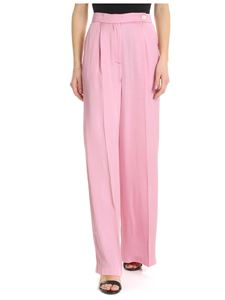 Semicouture - Semicouture palazzo trousers in pink