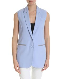 Semicouture - Light blue waistcoat