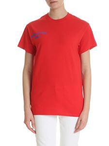 Semicouture - Red t-shirt with Semicouture logo