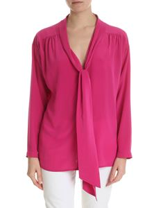 Semicouture - Fuchsia shirt in silk