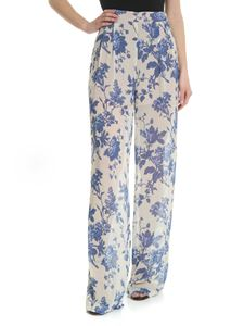 Semicouture - Flower printed trousers