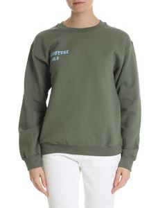 Semicouture - Green sweatshirt with Semicouture logo