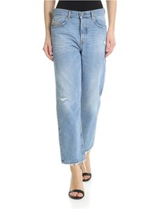 Diesel - 5 pockets light blue jeans