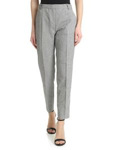 Pinko - Bello 67 trousers in black and gray