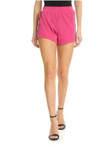 Chiara Ferragni - Fuchsia shorts with side bands