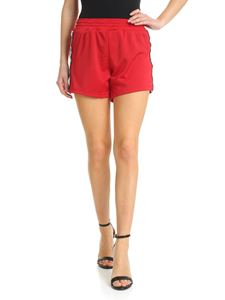 Chiara Ferragni - Red shorts with side bands