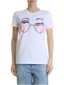 Chiara Ferragni - Pure cotton white t-shirt