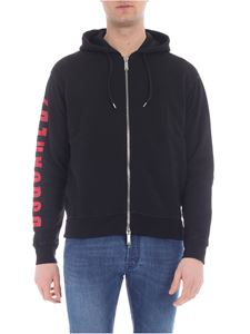 Dsquared2 - Dsquared2 branded sweatshirt in black
