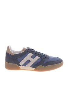 Hogan - H357 sneakers in blue and grey