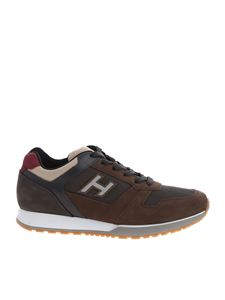 Hogan - H321 sneakers in brown