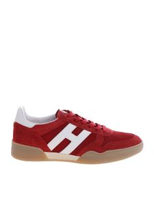 Hogan - H357 sneakers in red and white