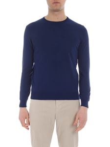 Kangra Cashmere - Bluette pullover with patches