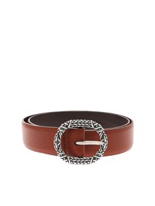 Orciani - Soft leather belt with buckle