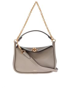 Mulberry - Grey small Leighton bag