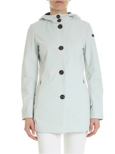 RRD Roberto Ricci Designs - Ice-colored coat with hood