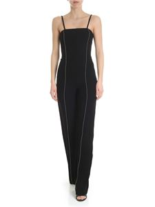 Patrizia Pepe - Black jumpsuit with silver beads