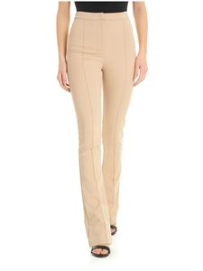 Patrizia Pepe - Beige trousers with veins