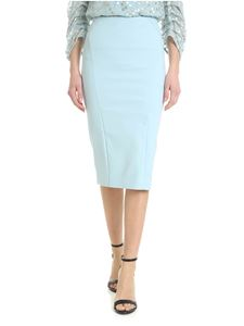 Patrizia Pepe - Light blue sheath skirt