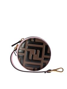Fendi - Brown Fendi Mania charms