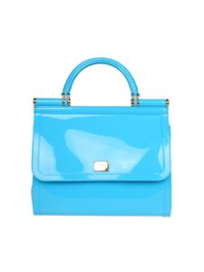 Dolce & Gabbana - Sicily light-blue handbag