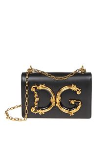 Dolce & Gabbana - Black D&G bag with baroque logo